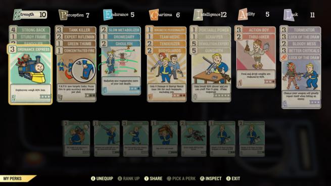 Fallout 76: Perk Picking – Boris Plays Games
