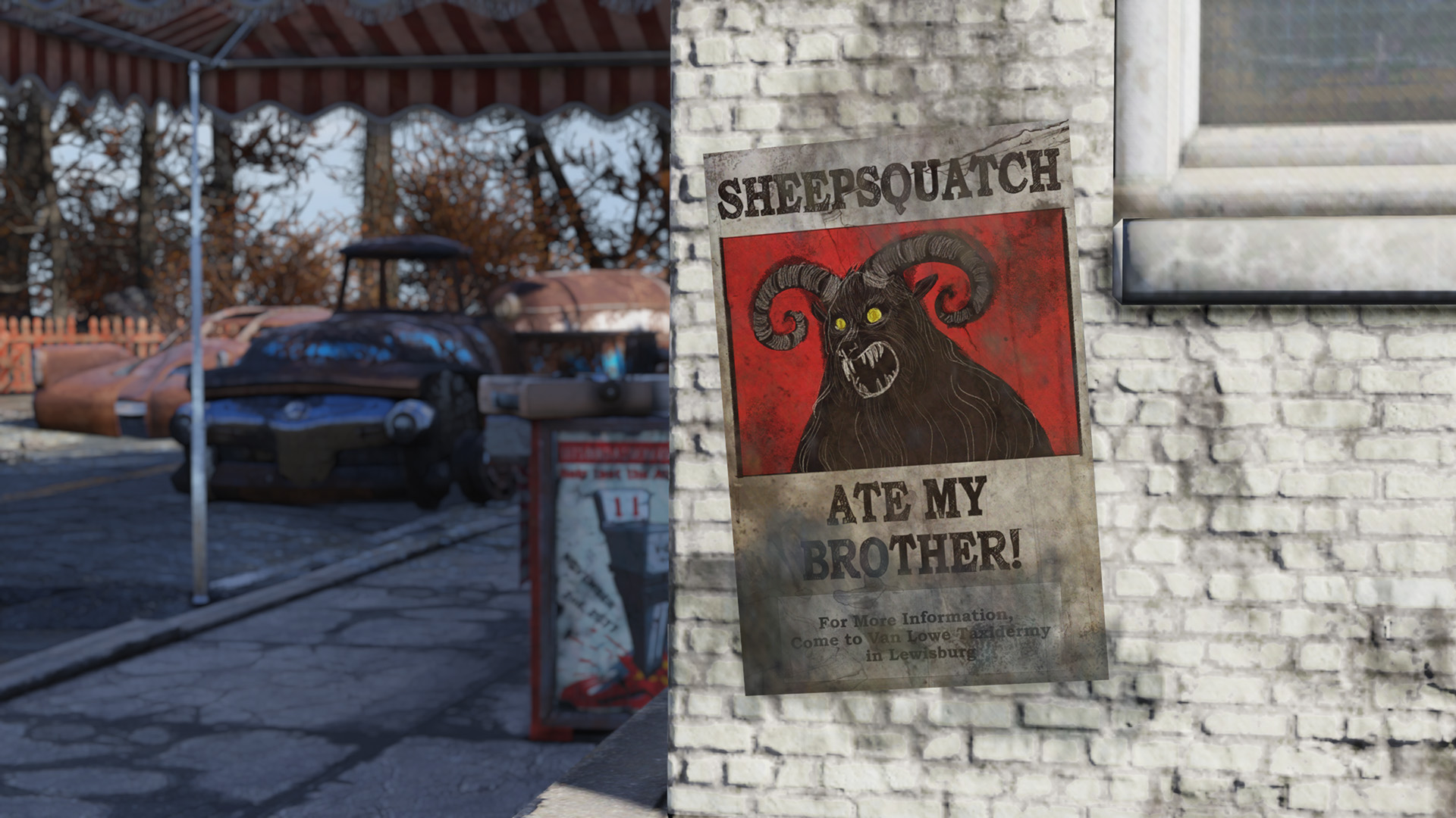 Fallout 76 How To Defeat Sheepsquatch Minor Spoilers Boris Plays Games
