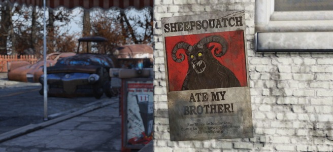 Fallout 76: How to Defeat Sheepsquatch (minor spoilers